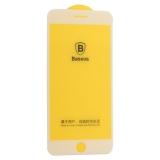 Стекло защитное Baseus 3D Arc-Surface Anti-Fingerprints SGAPIPH8P-AJG02 для iPhone 7 Plus / 8 Plus 0.30mm White