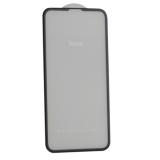 Стекло защитное Hoco Nano 3D A12 узкие силиконовые рамки для iPhone 11/ XR (6.1) Black