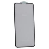 Стекло защитное Hoco Nano 3D A12 узкие силиконовые рамки для iPhone 11 Pro Max/ XS MAX (6.5) Black