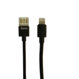 USB дата-кабель Hoco U55 Outstanding charging data cable Lightning (1.2 м) Черный