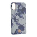 Чехол-накладка KINGXBAR для iPhone XS (5.8) пластик со стразами Swarovski (Орхидея)