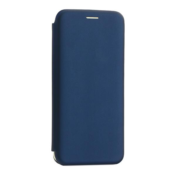 Чехол-книжка кожаный Innovation Case для Samsung Galaxy A20 Синий