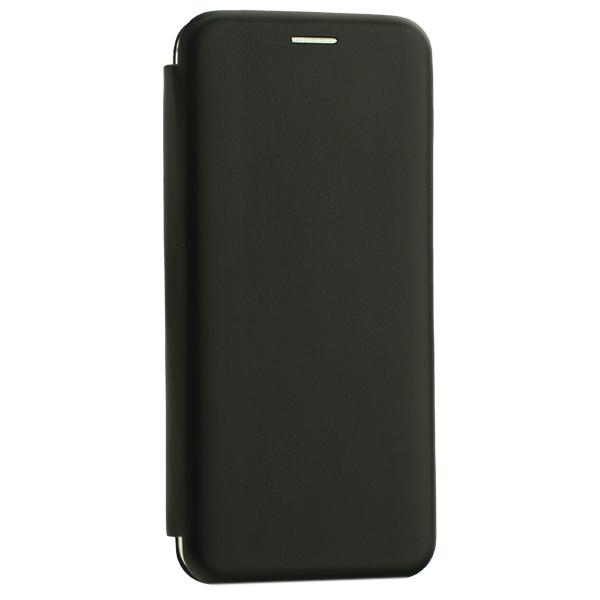 Чехол-книжка кожаный Innovation Case для Samsung Galaxy A20 Черный