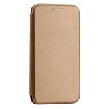 Чехол-книжка кожаный Innovation Case для Samsung Galaxy A30 Розовое золото