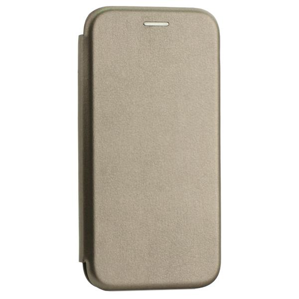 Чехол-книжка кожаный Innovation Case для Samsung Galaxy A40 Графитовый