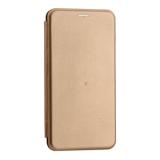 Чехол-книжка кожаный Innovation Case для Samsung Galaxy A70 Розовое золото