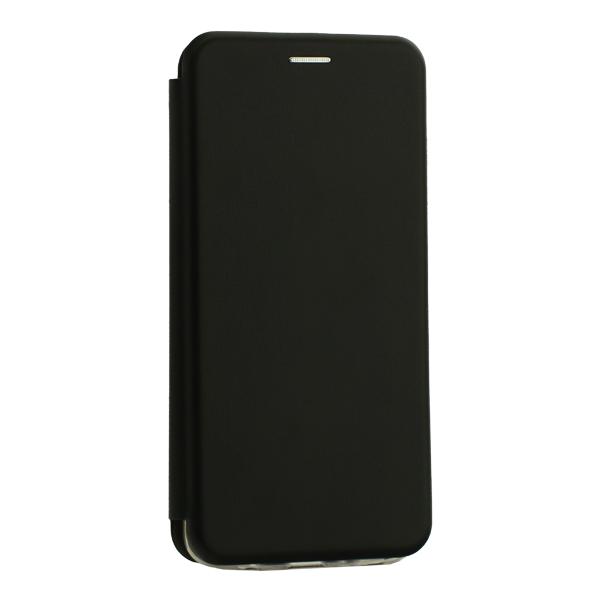 Чехол-книжка кожаный Innovation Case для Samsung Galaxy A70 Черный