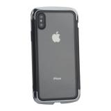 Чехол-накладка Element Case (AERO - DRAGO) закаленное стекло для iPhone XS (5.8) Серебристый