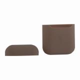 Чехол силиконовый для AirPods 2 Case Protection ультратонкий «Розовый песок»