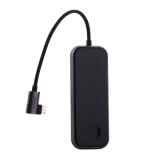 Переходник Baseus HUB с беспроводным зарядным устройством для Watch (CAHUB-AZOG) Type-C to USB3.0x2/ AUX/ HDMI/ Type-C для Mac