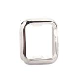 Чехол силиконовый TPU&защита экрана 360° COTEetCI для Apple Watch Series 5/ 4 (CS7059-TS) 40мм Серебристый