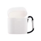Чехол силиконовый с карабином & гарнитура COTEetCI для Huawei FreeBuds 2 (CS8132-WH) Белый