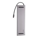 Переходник Baseus Enjoyment Series HUB Adapter 11в1 (CATSX-G0G) Type-C для MacBook Графитовый