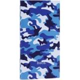 Аккумулятор внешний универсальный Hoco J9-10000 mAh Camouflage Series Power Bank (USB: 5V/2.1A Max) Камуфляж-синий