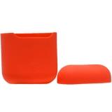 Чехол силиконовый для AirPods 2 Case Protection ультратонкий «Спелый нектарин»