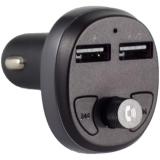 Автомобильное зарядное устройство Hoco E41 c FM-трансмитером IN-Car Audio Wireless FM Transmitter Charger (2USB: 5V/2.1A Max) Черный
