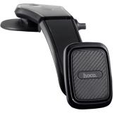 Автомобильный держатель Hoco CA45 Center console magnetic in-car holder магнитный универсальный черный