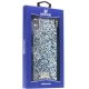 Чехол-накладка силиконовая со стразами SWAROVSKI Crystalline для iPhone XS Max (6.5) Темно-синий №2