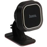 Автомобильный держатель Hoco CA53 Intelligent dashboard in-car holder магнитный универсальный черный