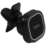 Автомобильный держатель Hoco CA52 Intelligent air outlet in-car holder магнитный универсальный в решетку черный