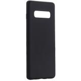 Чехол-накладка силиконовый BoraSCO B-36777 Hard Case для Samsung Galaxy S10 Plus (G975) черный