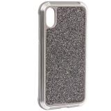 Чехол-накладка противоударный X-DORIA Defense Lux Glitter (3X2CO5C8B) для iPhone X (5.8) Серебристый