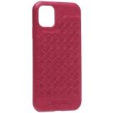 Накладка кожаная Santa Barbara Polo&Racquet Club Ravel Series для iPhone 11 (6.1) Красная