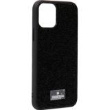 Чехол-накладка силиконовая со стразами SWAROVSKI Crystalline для iPhone 11 Pro (5.8) Черный №5