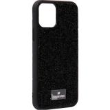 Чехол-накладка силиконовая со стразами SWAROVSKI Crystalline для iPhone 11 Pro (5.8) Черный №7