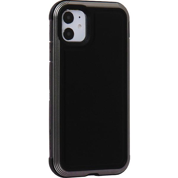 Чехол-накладка противоударный X-DORIA Defense Lux (370400112008) кожа для iPhone 11 (6.1) Черный