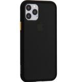 Чехол-накладка пластиковый KeepHone Armor Series для iPhone 11 Pro (5.8) с силиконовыми бортами Черный