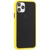 Чехол-накладка пластиковый KeepHone Armor Series для iPhone 11 Pro (5.8) с силиконовыми бортами Желтый