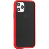 Чехол-накладка пластиковый KeepHone Armor Series для iPhone 11 Pro (5.8) с силиконовыми бортами Красный