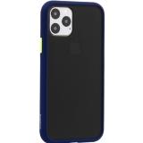 Чехол-накладка пластиковый KeepHone Armor Series для iPhone 11 Pro (5.8) с силиконовыми бортами Темно-синий