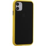 Чехол-накладка пластиковый KeepHone Armor Series для iPhone 11 (6.1) с силиконовыми бортами Желтый