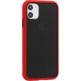 Чехол-накладка пластиковый KeepHone Armor Series для iPhone 11 (6.1) с силиконовыми бортами Красный