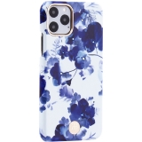 Чехол-накладка KINGXBAR для iPhone 11 Pro (5.8) пластик со стразами Swarovski (Орхидея)