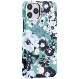 Чехол-накладка KINGXBAR для iPhone 11 Pro (5.8) пластик со стразами Swarovski (Цветочная фея) зеленый