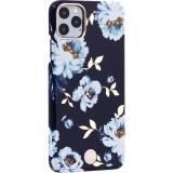 Чехол-накладка KINGXBAR для iPhone 11 Pro Max (6.5) пластик со стразами Swarovski (Гардения)