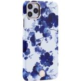 Чехол-накладка KINGXBAR для iPhone 11 Pro Max (6.5) пластик со стразами Swarovski (Орхидея)