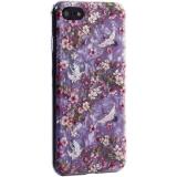 Чехол-накладка пластиковый Fashion Case для iPhone 8 (4.7) с силиконовыми бортами Розовый вид №1
