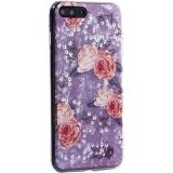 Чехол-накладка пластиковый Fashion Case для iPhone 8 Plus (5.5) с силиконовыми бортами Розовый вид №3