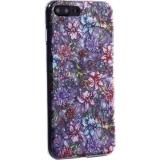 Чехол-накладка пластиковый Fashion Case для iPhone 8 Plus (5.5) с силиконовыми бортами Розовый вид №6