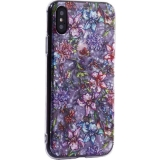Чехол-накладка пластиковый Fashion Case для iPhone X (5.8) с силиконовыми бортами Розовый вид №6
