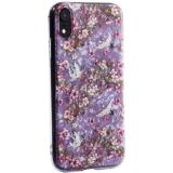 Чехол-накладка пластиковый Fashion Case для iPhone XR (6.1) с силиконовыми бортами Розовый вид №1