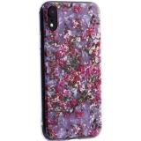 Чехол-накладка пластиковый Fashion Case для iPhone XR (6.1) с силиконовыми бортами Розовый вид №2