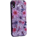 Чехол-накладка пластиковый Fashion Case для iPhone XR (6.1) с силиконовыми бортами Розовый вид №4