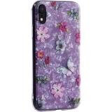 Чехол-накладка пластиковый Fashion Case для iPhone XR (6.1) с силиконовыми бортами Розовый вид №5
