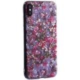 Чехол-накладка пластиковый Fashion Case для iPhone XS Max (6.5) с силиконовыми бортами Розовый вид №2