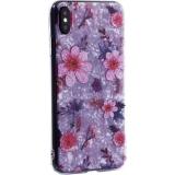 Чехол-накладка пластиковый Fashion Case для iPhone XS Max (6.5) с силиконовыми бортами Розовый вид №4